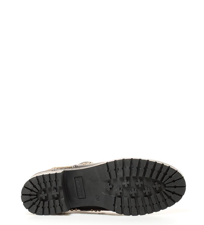 Desigual Botines Charly Blackstud negro Altura tacón: 5cm