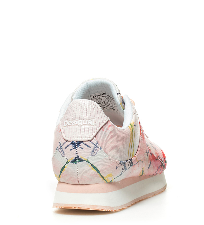 Hand Desigual Zapatillas Pinted Zapatillas Galaxy rosa Desigual qB8awZ