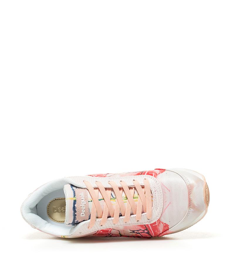 Galaxy rosa Hand Desigual Pinted Zapatillas 6WO5vxBnzq