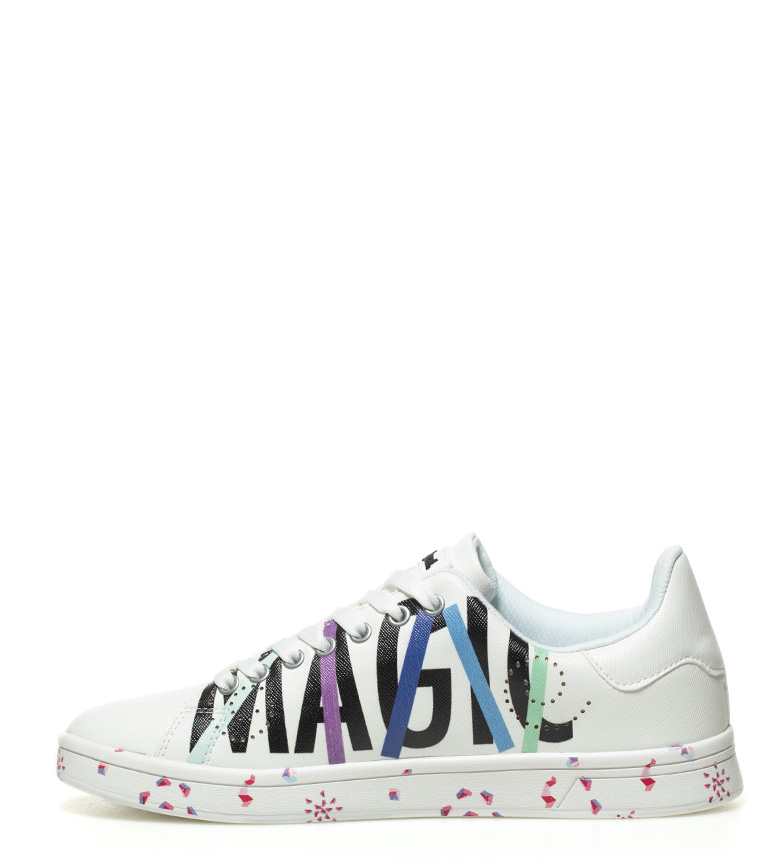 Zapatillas Geometry Desigual blanco Cosmic Now Sqdxw6A