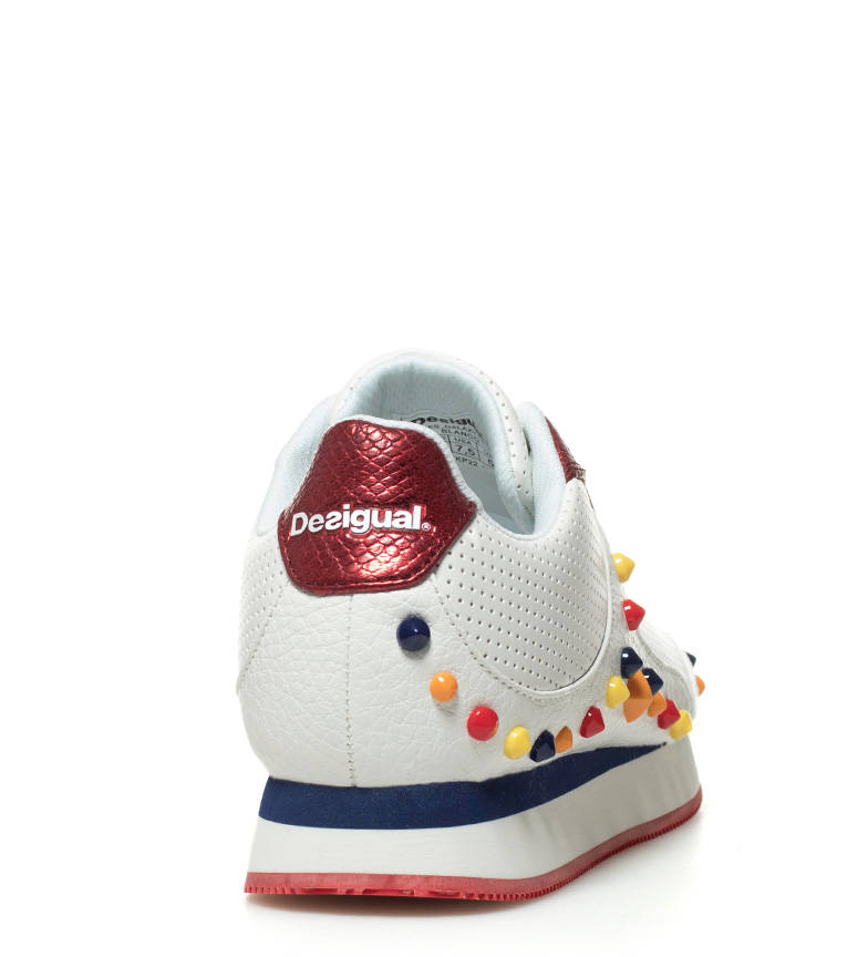 Galaxy Candy Desigual rojo Zapatillas blanco fTqnwv5