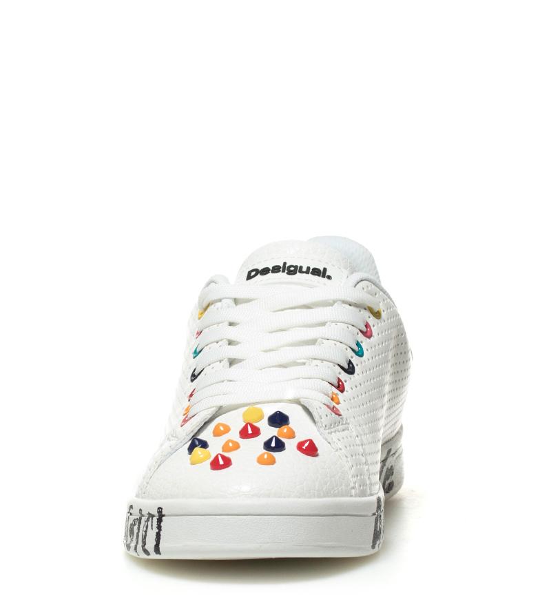 Desigual Zapatillas Cosmic Candy blanco