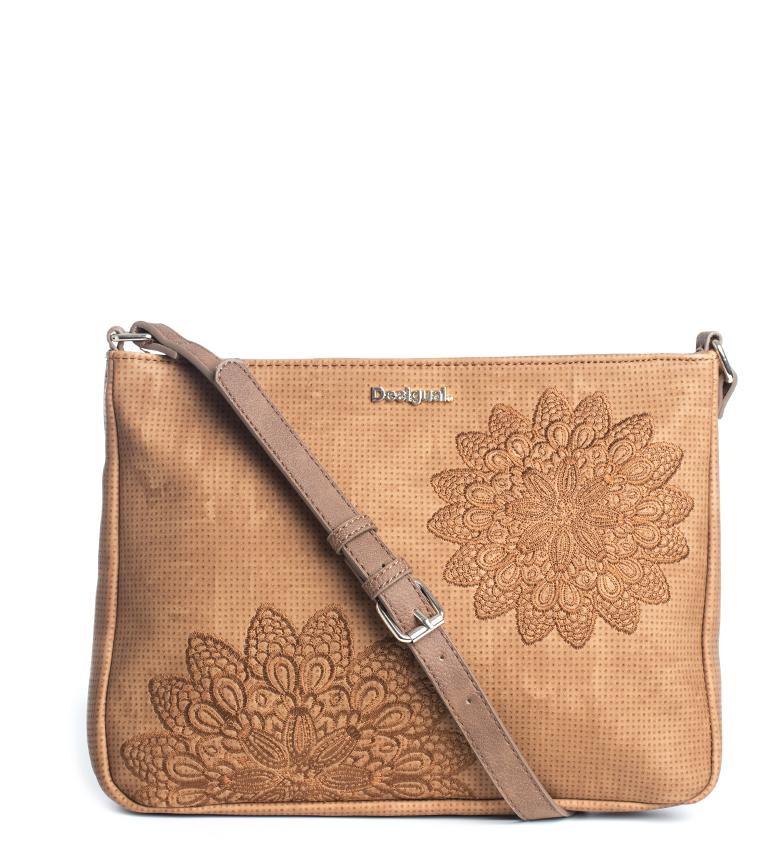 Comprar Desigual Atila Espot camel shoulder bag -30x22x4cm