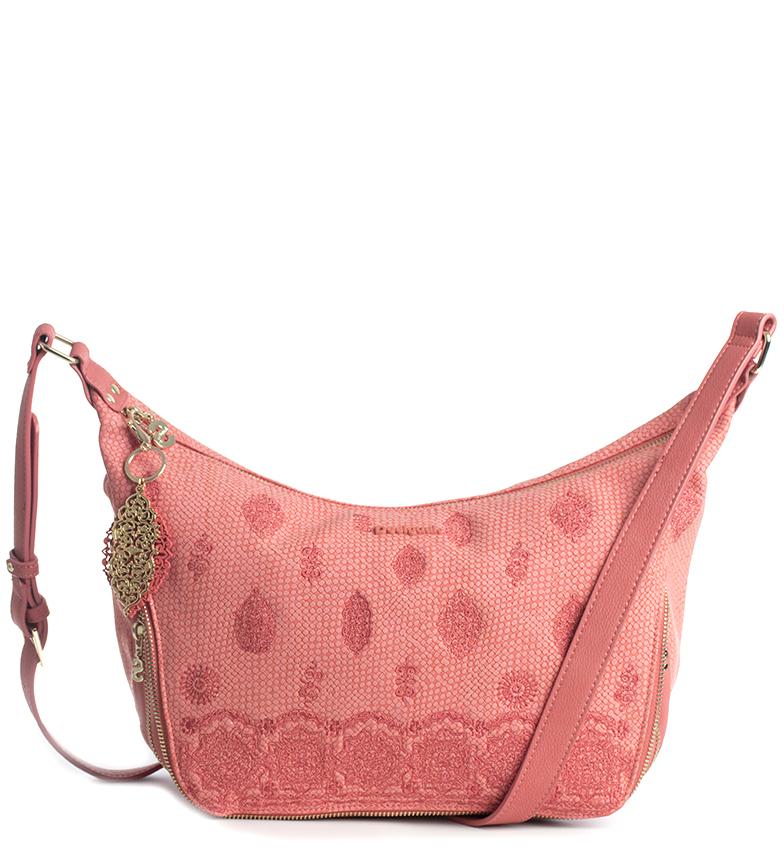 Comprar Desigual Bandolera Paola Somalia rosa -37x24x9cm-
