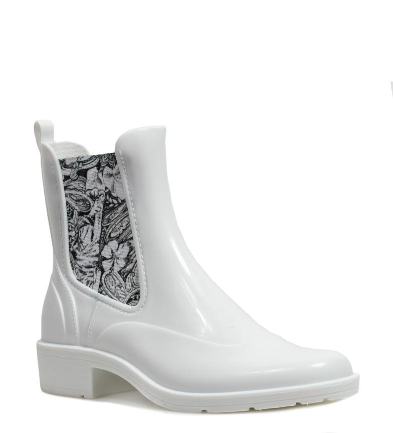 agua Desigual Ankle blanco de Botas Rain ff4qrE