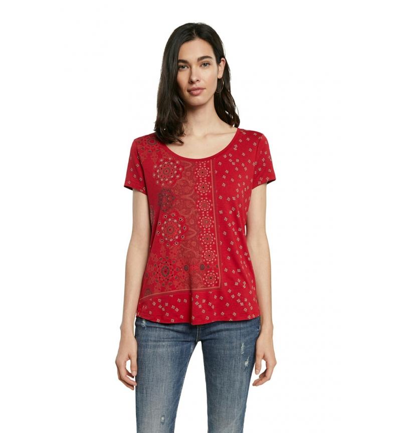 Comprar Desigual T-shirt rouge Istanbul