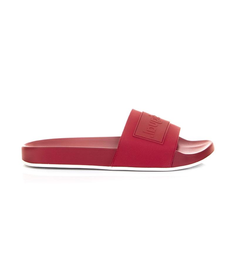 Comprar Desigual Pantoufles rouges Logomania