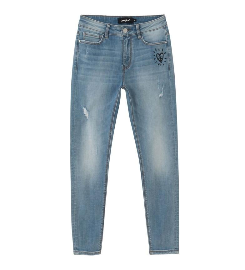 Comprar Desigual Denim Jeans Alba light blue