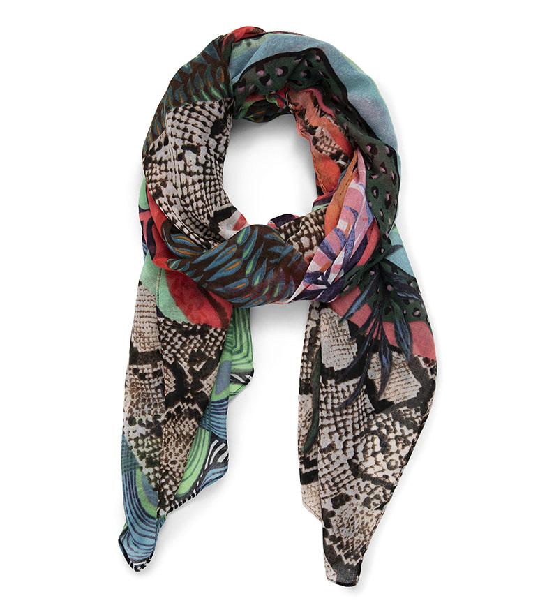 Comprar Desigual Multicoloured Pitahaya Foulard