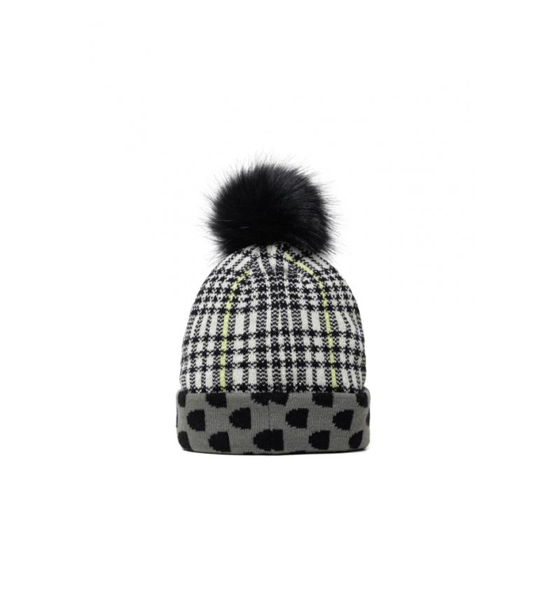 Comprar Desigual Chapéu de monograma preto, branco