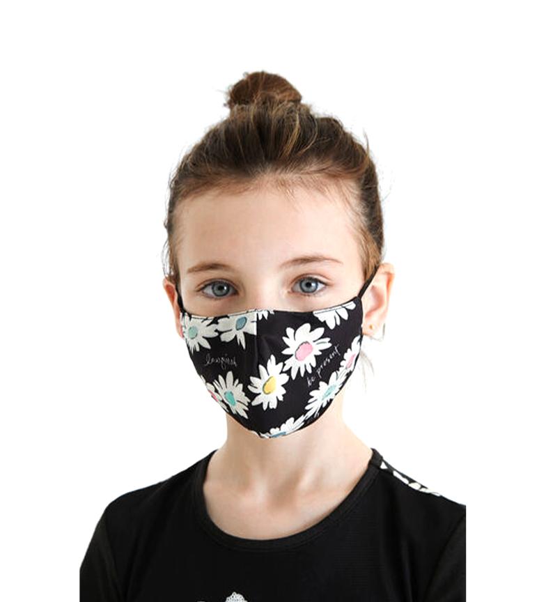 Comprar Desigual Lot de 2 masques Kids Lucia noir