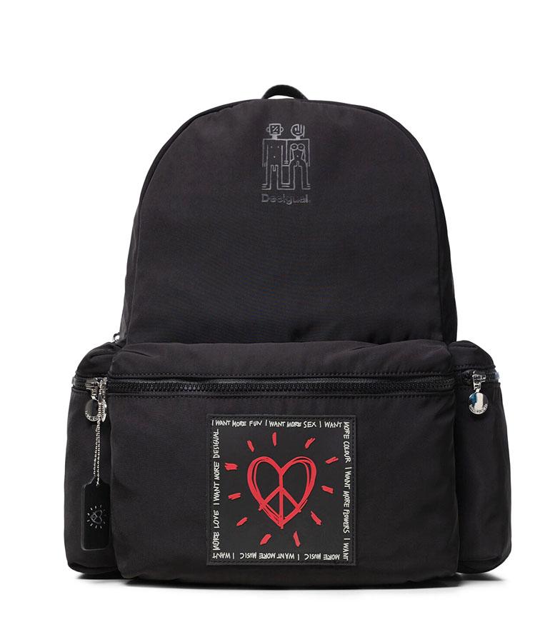 Comprar Desigual Backpack Colors Oss black -39x30x18cm