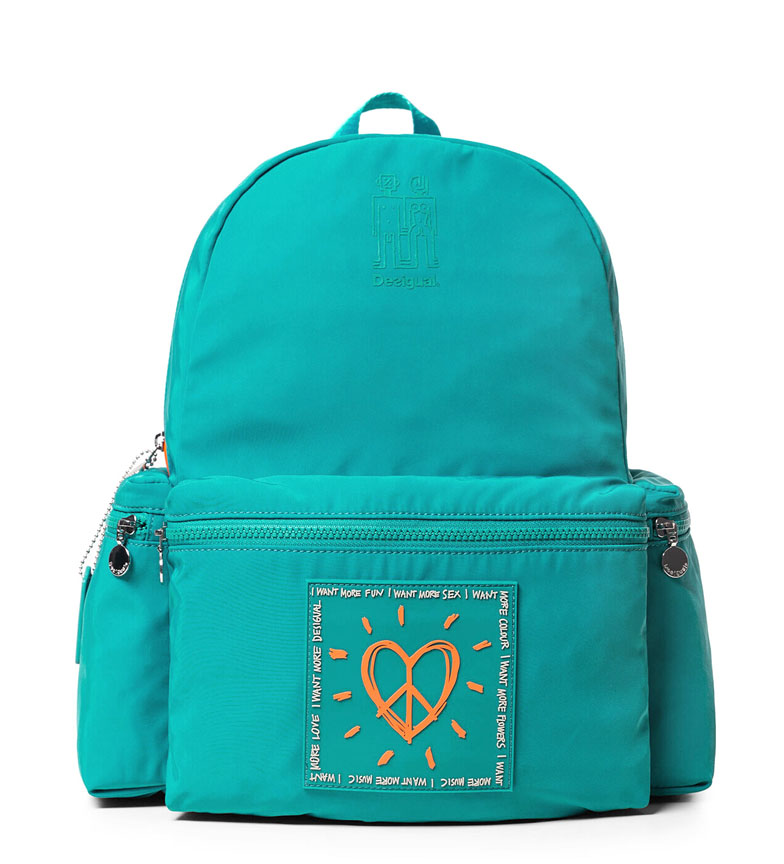 Comprar Desigual Backpack Colors Oss turquoise -39x30x18cm