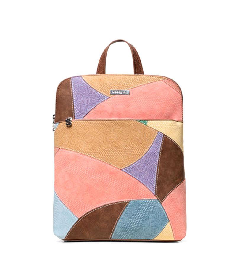 Comprar Desigual Backpack Jackie Nanaimo brown, multicolor -32x11x29cm-
