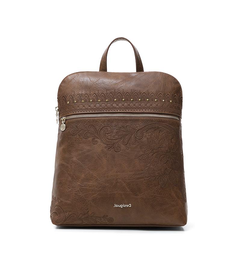 Comprar Desigual Martini backpack Nanaimo brown -28x35,5x11cm