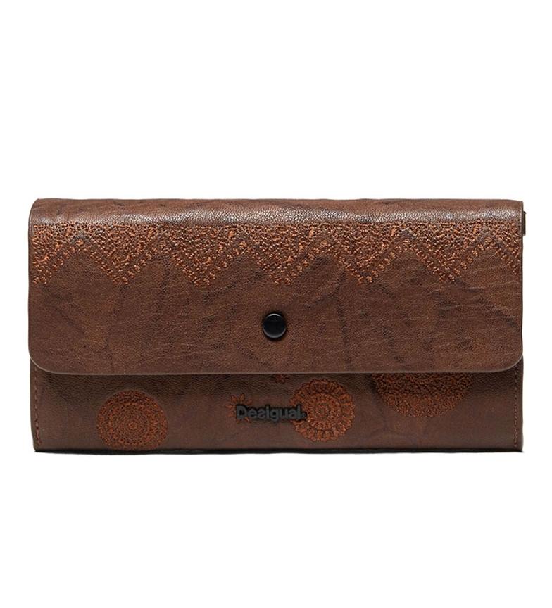 Comprar Desigual Portafoglio reversibile Albita marrone, nudo -20.6x11x3cm-