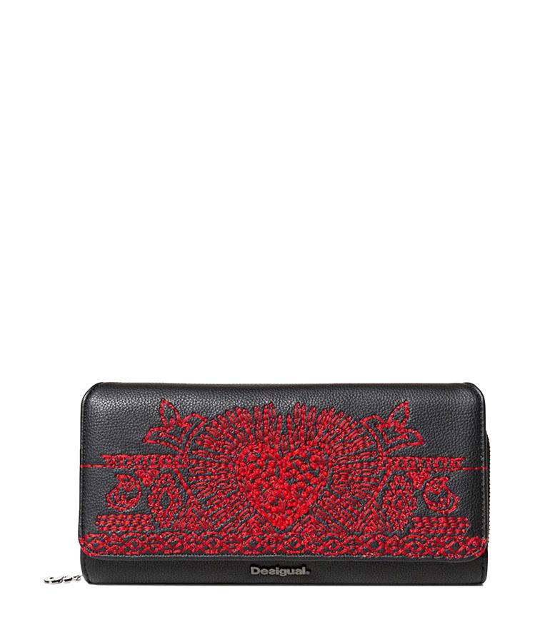 Comprar Desigual Bater Coração Maria bolsa preta -20.5x11x4cm