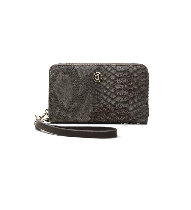 Comprar Desigual Criseida Mini Zip purse brown