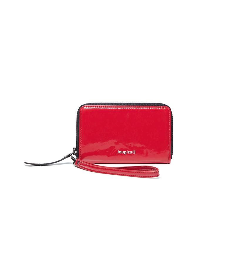 Comprar Desigual Forever Young Mini bolsa Zip vermelho -15x2x9cm
