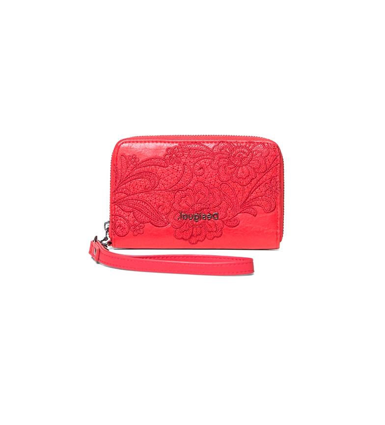 Comprar Desigual Melody Mini Zip purse red -15x2x 9,5cm-