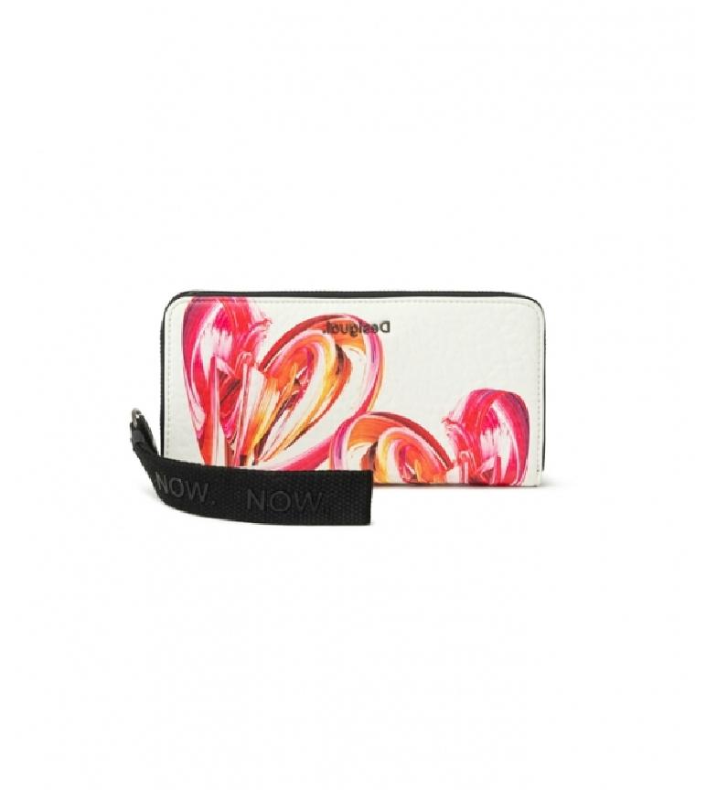 Comprar Desigual Purse Unbreakable Fiona white, pink -20,2x2x10cm