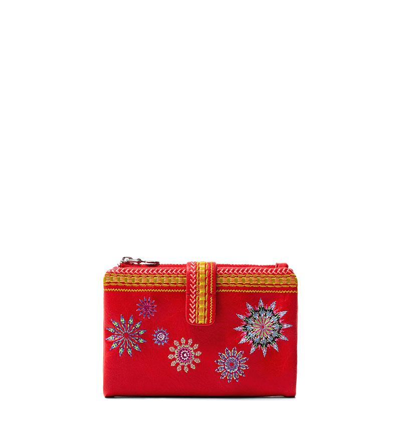 Comprar Desigual Ada Pia Mini purse red -14x10x3,5cm