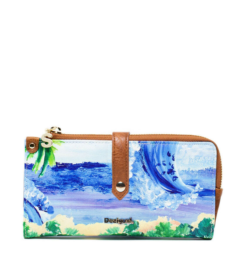 Comprar Desigual Monedero Landscape Ocean Ester -19x10x1cm-