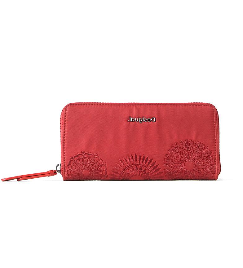Desigual Mandarala Fiona purse red -20x2x10cm