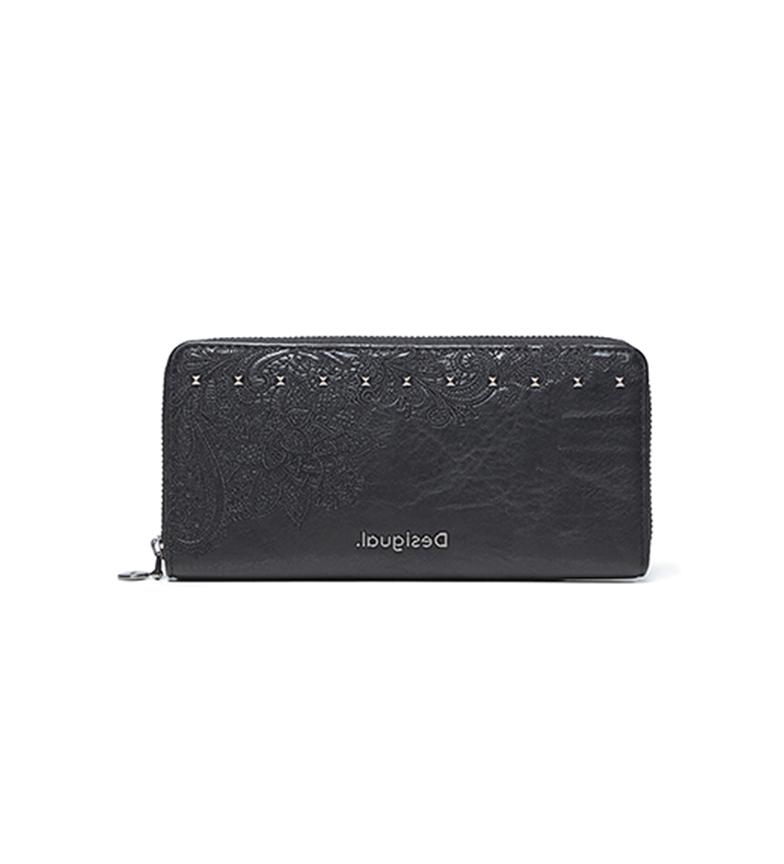 Comprar Desigual Zip Around Martini purse black -19x1,8x9,5 cm