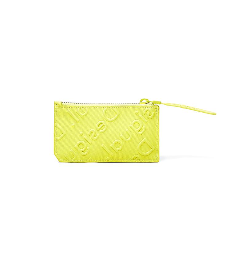 Comprar Desigual Monedero Pequeño Colorama amarillo -13x0.5x7cm-