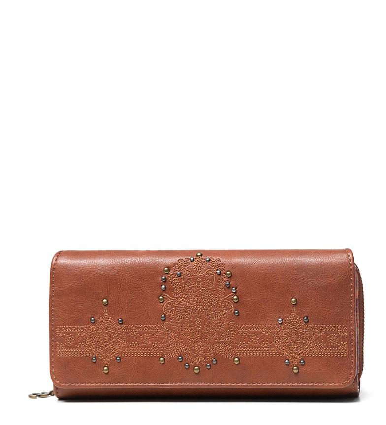 Comprar Desigual Soft Henna Maria purse brown -20.2x9.5x3cm