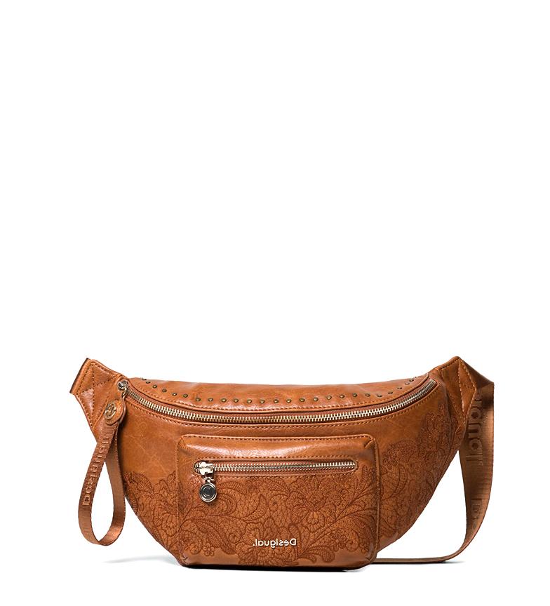 Comprar Desigual Riñonera Melody Coira marrón -35x8x16cm-