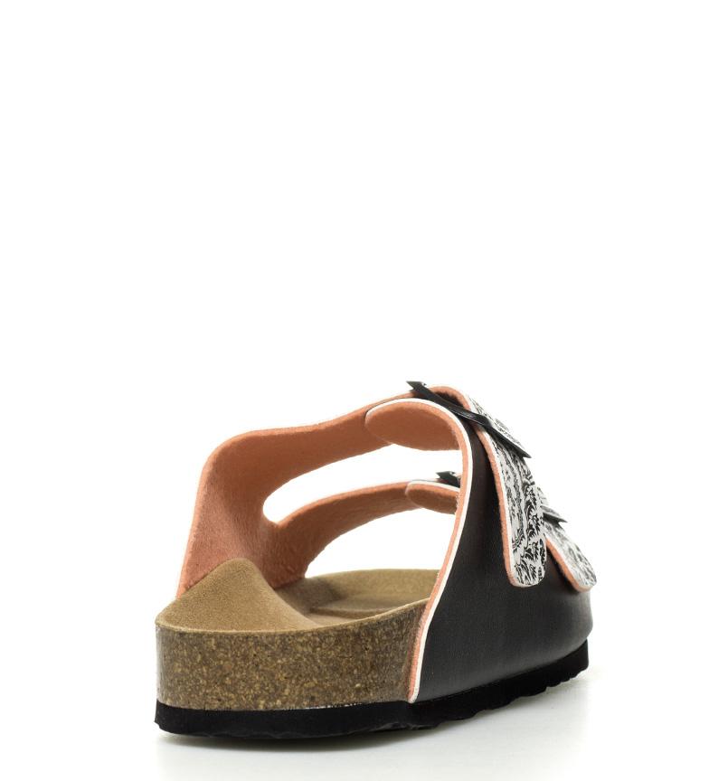 Wueen Spare Ujevn Svart Sandaler Bio2 klassisk billig online kjøpe billig kjøp rX9YxQ608