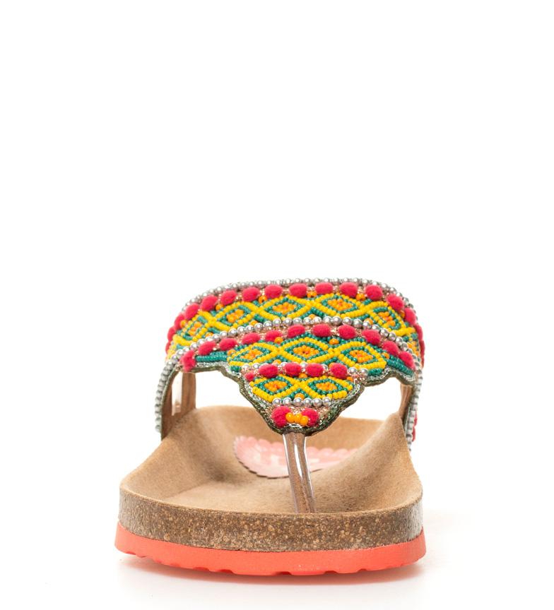 Desigual Sandalias Bio3 Tajmahal Beads multicolor