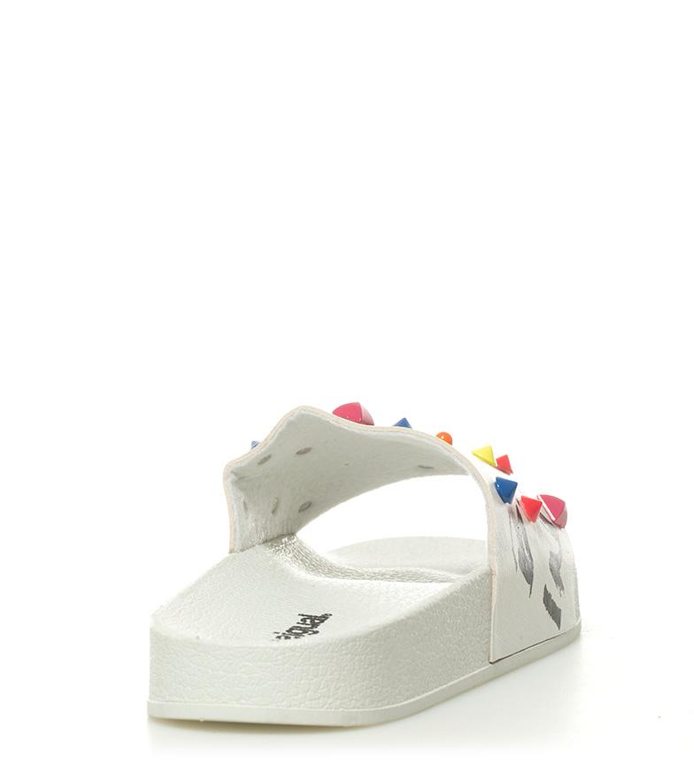 Desigual Sandalias Desigual Sandalias blanco Slide Candy Slide blanco Candy wBq1Sxx4