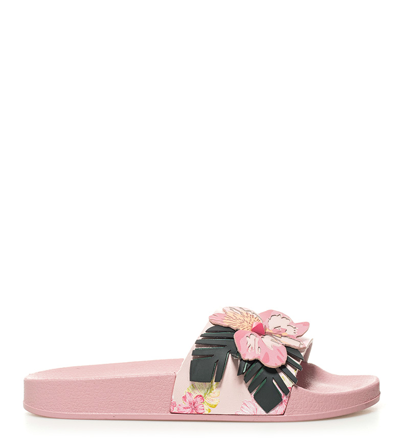 Malibu Sandalias rosa Malibu Slide Desigual Desigual Sandalias rosa Slide q8Ew0r8