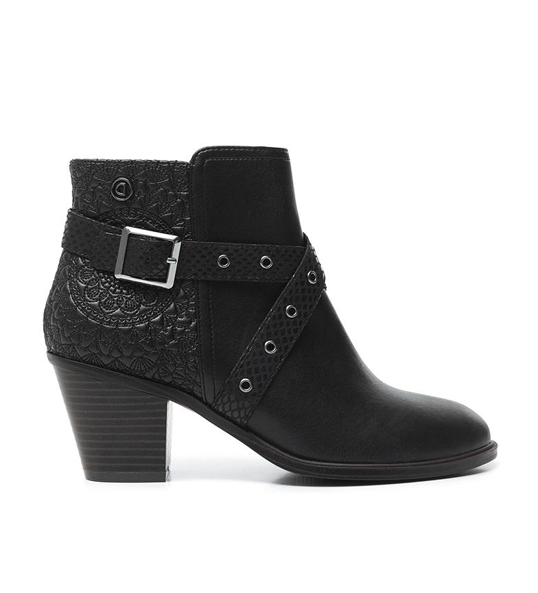 Desigual Ankle boots Alaska Mandala black -Heel height: 7cm