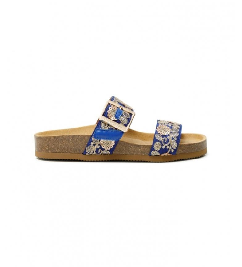 Comprar Desigual Aries Exotic blue sandals