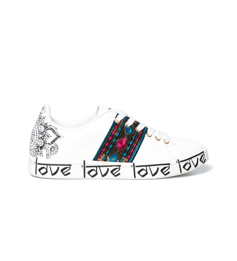 Comprar Desigual Sneakers Cosmic Exotic Indian white