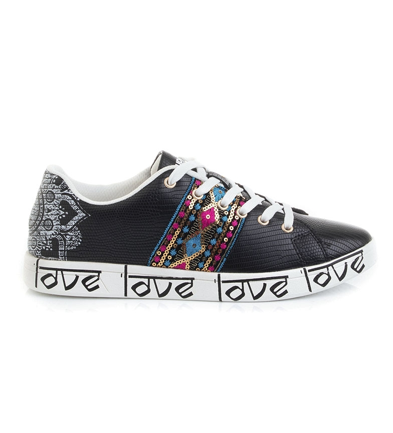 Comprar Desigual Zapatillas Cosmic Exotic Indian negro
