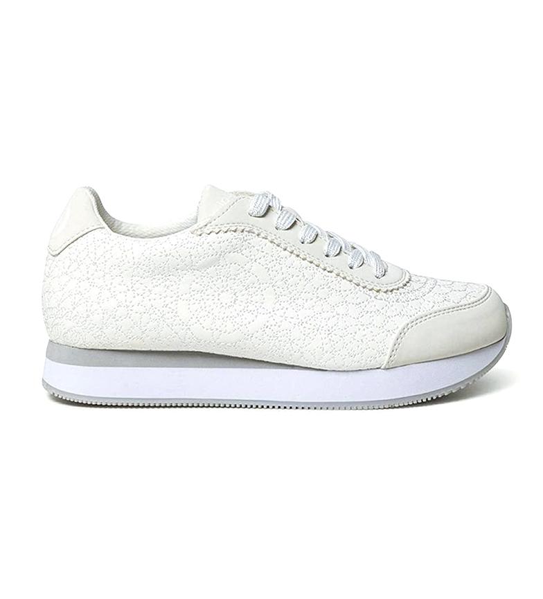 Comprar Desigual Galaxy Mandala sapatos brancos