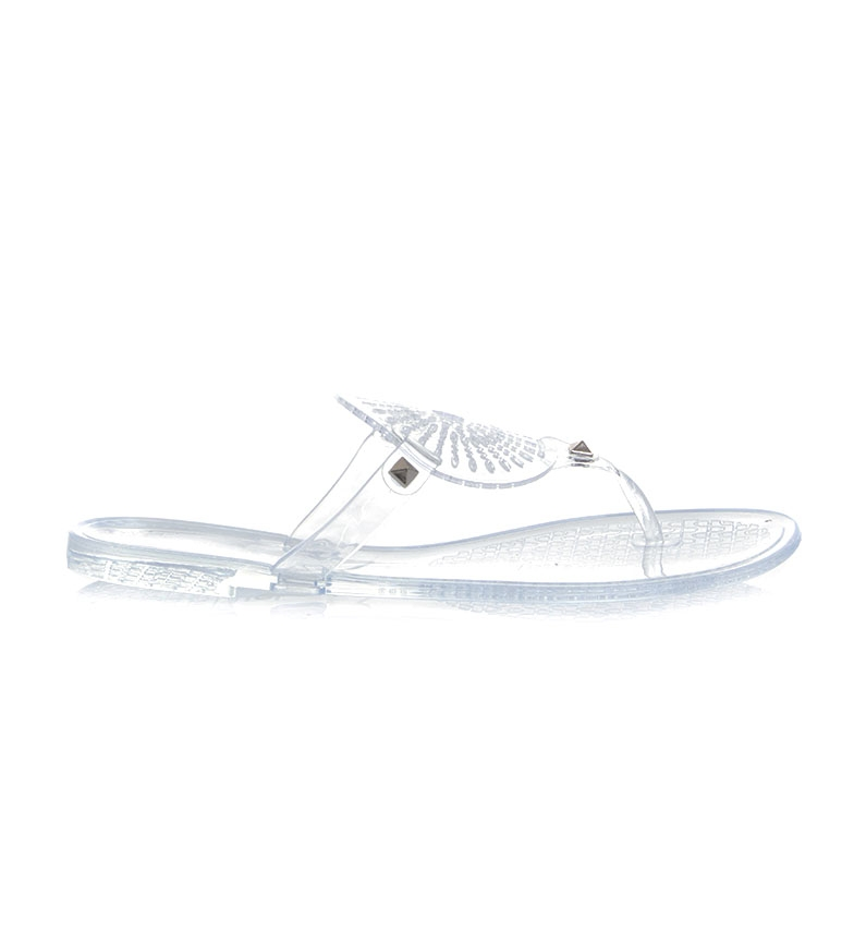 Comprar Desigual Jelly Galactic transparent slippers