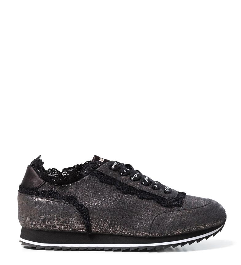 Comprar Desigual Pegaso Sneakers in pizzo grigio