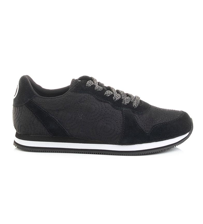 Comprar Desigual Chaussures Pegasus Logomania noires