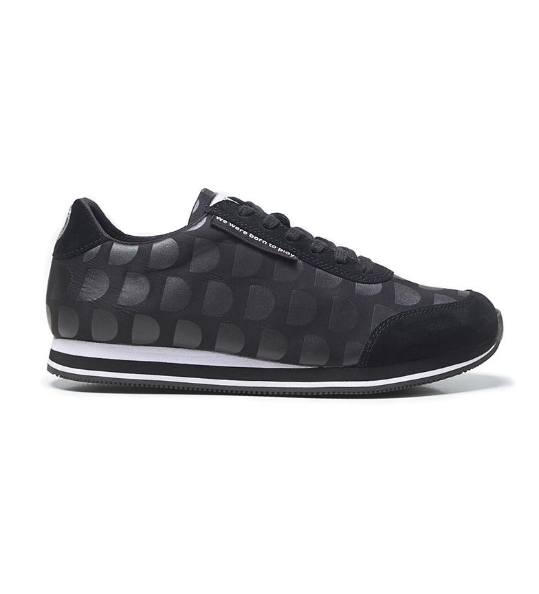 Comprar Desigual Logotipo Pegasus Sapatos Mania preto