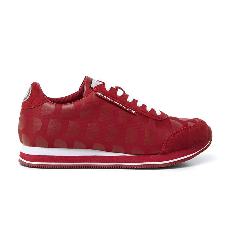 Comprar Desigual Pegasus Logotipo Mania sapatos vermelhos