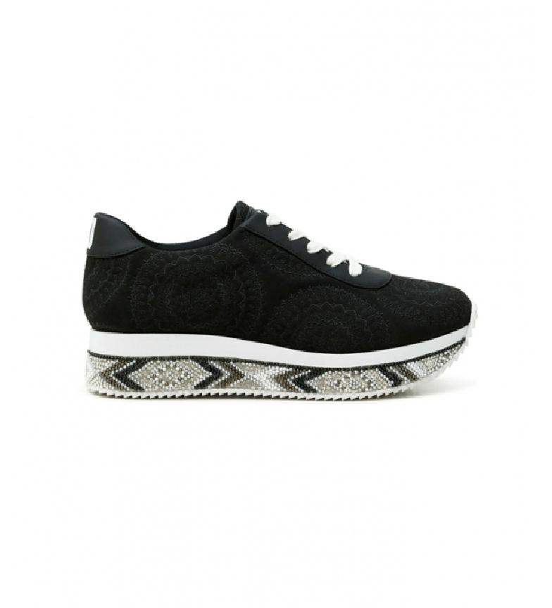 Comprar Desigual Sneakers Platform Indian Mandala black