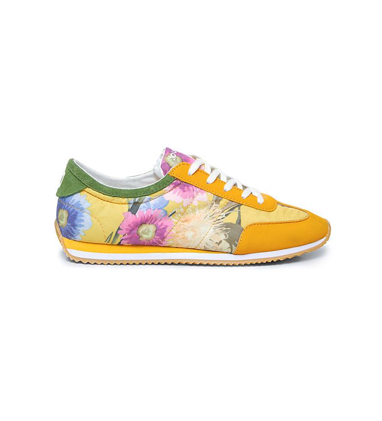 Comprar Desigual Sneakers Royal Flowers yellow