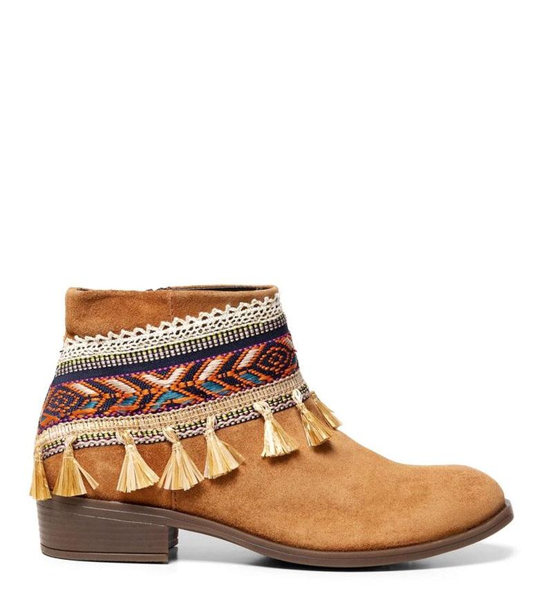 Comprar Desigual Folk boots Gipsy Patch black - Heel height: 8.5cm-