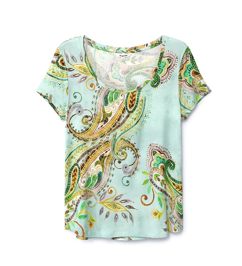 Desigual T-shirt TS Mandragora blu, multicolor